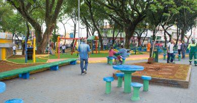 Praça principal de Vila Matilde é revitalizada e ganha acessibilidade