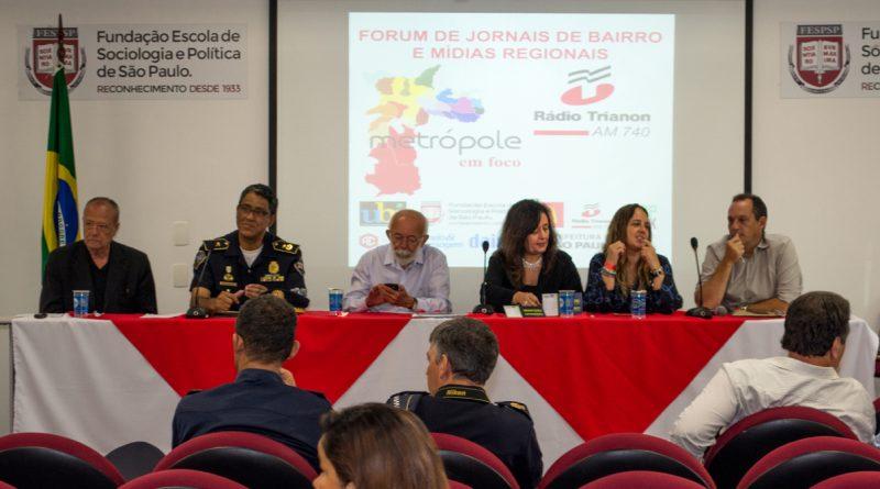 Forum de Jornais de Bairro debate as mudanças no consumo da comunicação da Mídia Regional